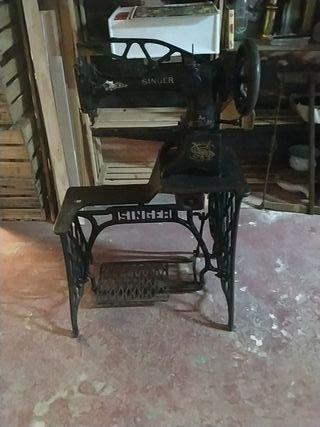 maquina de coser zapatos