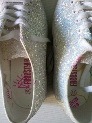 zapatillas niña freestyle