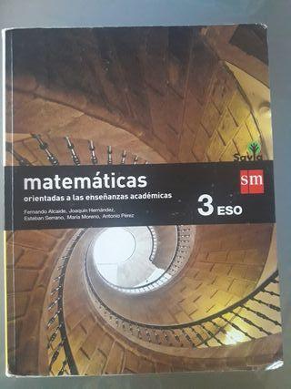 Matematicas 3° de eso sm