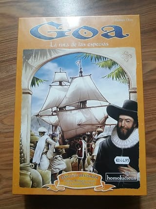 Juego de mesa Goa