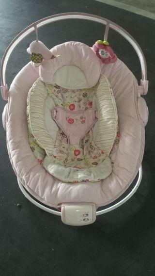Hamaca Confort Bebé con vibración y sonido
