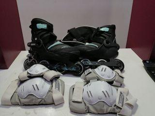 patines en línea OXELO talla 39