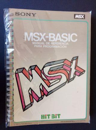 Manual MSX HIT BIT Sony BASIC de 1984