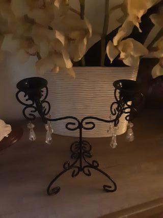 candelabro negro ikea