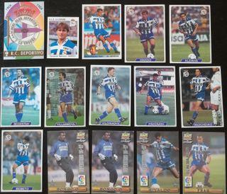 Lote cromos Deportivo de la Coruña