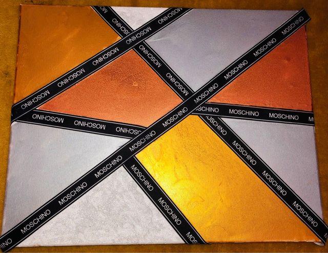 Moschino canvas