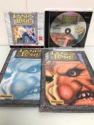 Lands of Lore (PC CD-ROM) WestWood Studios