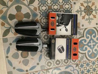 Kit Estriberas, pedales y puños Harley Davidson