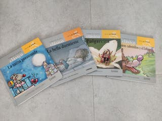 Colección 4 cuentos clásicos infantiles.