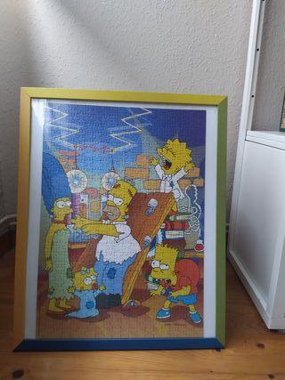 Puzzle con marco, Los Simpson