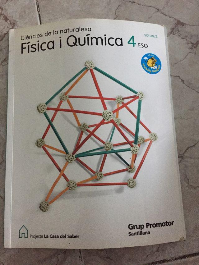 4ESO ciències de la naturalesa física i quimica
