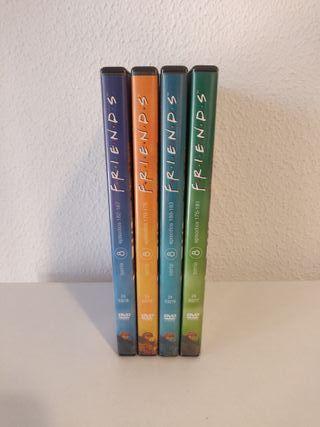 Friends Temporada 8 en DVD completa
