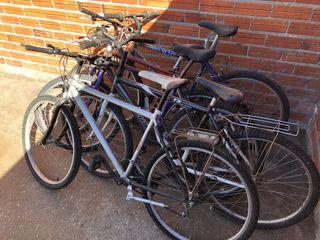 Lote 5 bicicletas