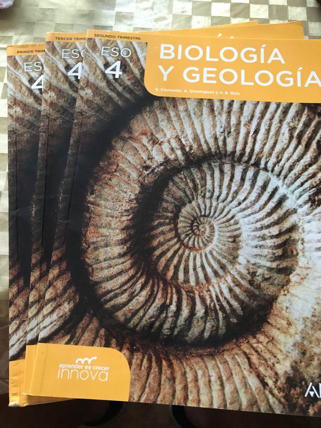 Libros Biología 4 de la ESO