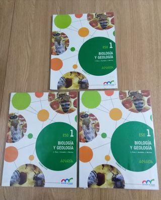 Libros Biología 1° ESO