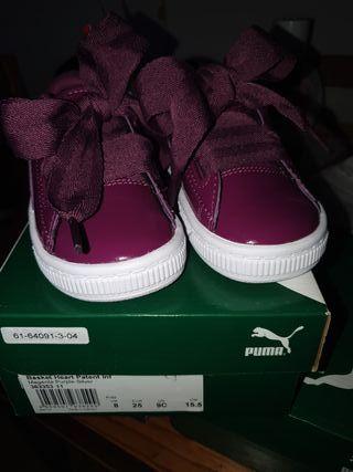 zapatillas Puma niñas