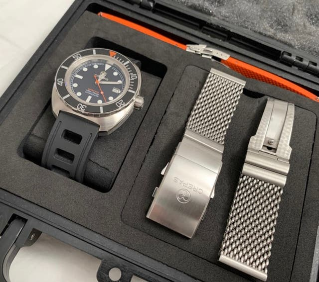 Reloj Crepas Scuba 500