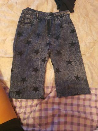 pantalones piratas