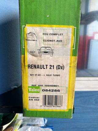 Piloto delantero derecho Renault 21
