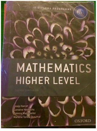 Matemáticas nivel Superior IB Bachillerato inter
