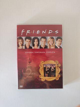 Friends temporada 2 en DVD completa