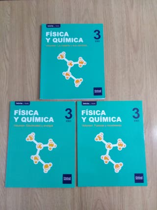 Libros FQ 3° ESO