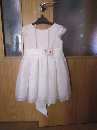 vestido celebración niña