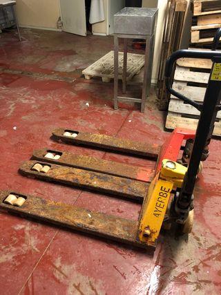 Transpaletas para reparar