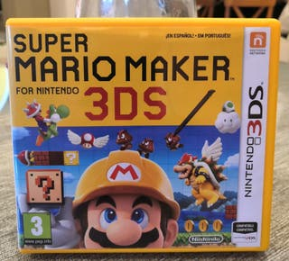 supermario maker para Nintendo 3ds