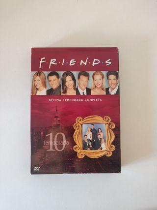 Friends temporada 10 en DVD completa