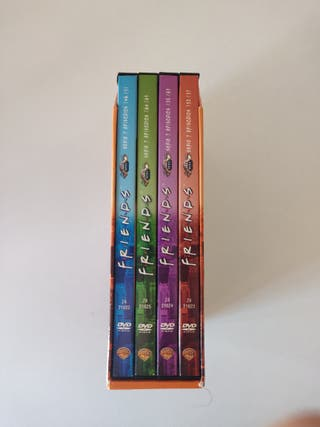 Friends Temporada 7 en DVD completa