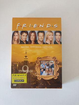 Friends Temporada 9 en DVD completa