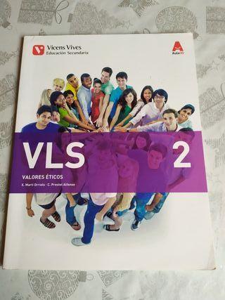 Libro VLS 2 Valores Éticos 2°ESO. 9788468236339