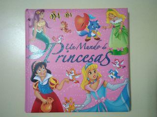 "Libro infantil ""Un mundo de princesas"""