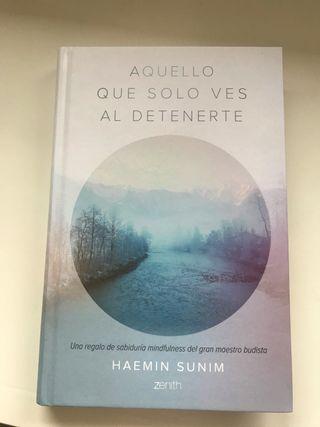 Libro. Aquello que sólo ves al detenerte. H.Sunim