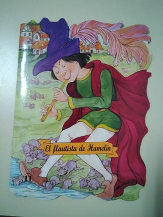 "Mini libro infantil ""El flautista de Hamelín"""