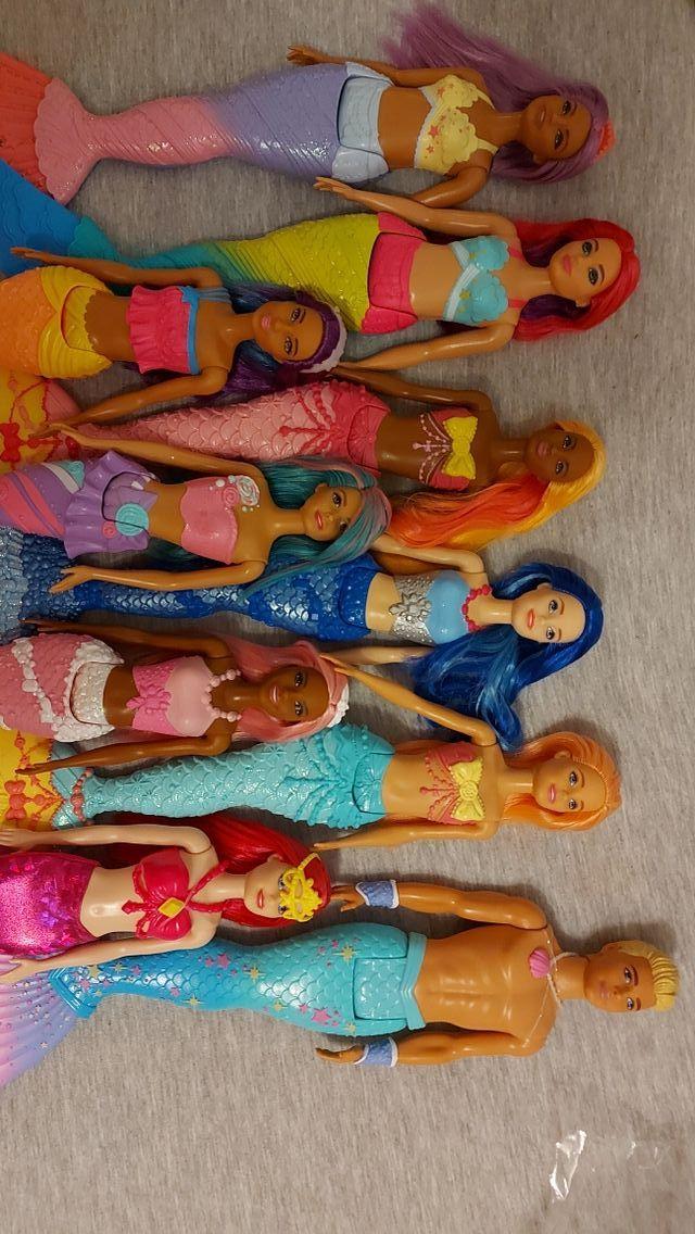 Barbies sirenas