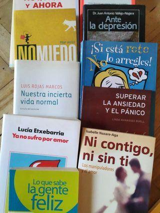 Colección libros autoayuda