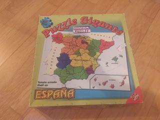 Puzzle mapa de España