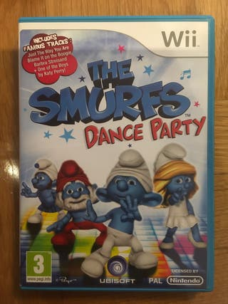 Juego Wii The Smurfs Dance party