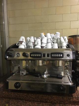 Cafetera industrial de hostelería