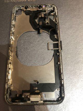 Marco iPhone X para poner tapa con cámara y otros