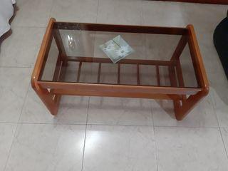 mesa de cristal para el Salón
