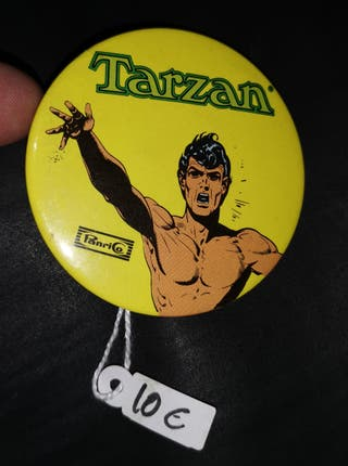 CHAPA TARZAN PASTELITOS PANRICO AÑOS 70