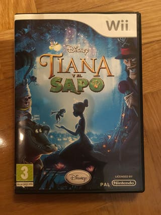 Juego Wii Tiana y el sapo