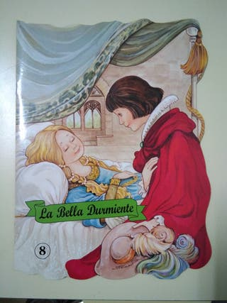 "Mini libro infantil ""La bella durmiente"""
