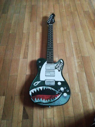Guitarra wowwee paper jamz