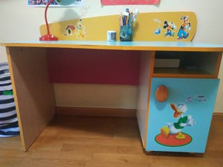 Mesa escritorio Mickey infantil