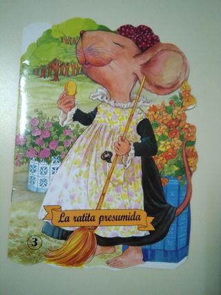 """Mini libro infantil """"La ratita presumida"""""""