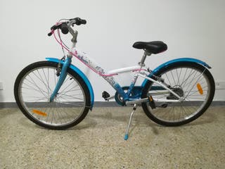 Bicicleta de paseo Btwim 24 pulgadas infantil.